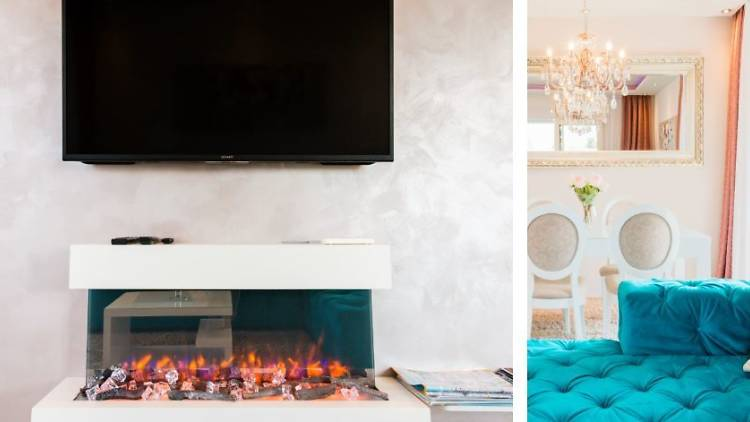 'Luxurious Modern Apartment with a Romantic Fireplace', Split