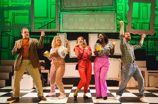 Falsettos review: A slick UK premiere doesn't quite nail this cult US  musical