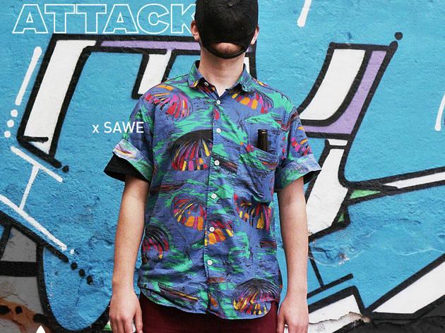 Wall Attack: adidas Originals x Sawe a imaginCafè