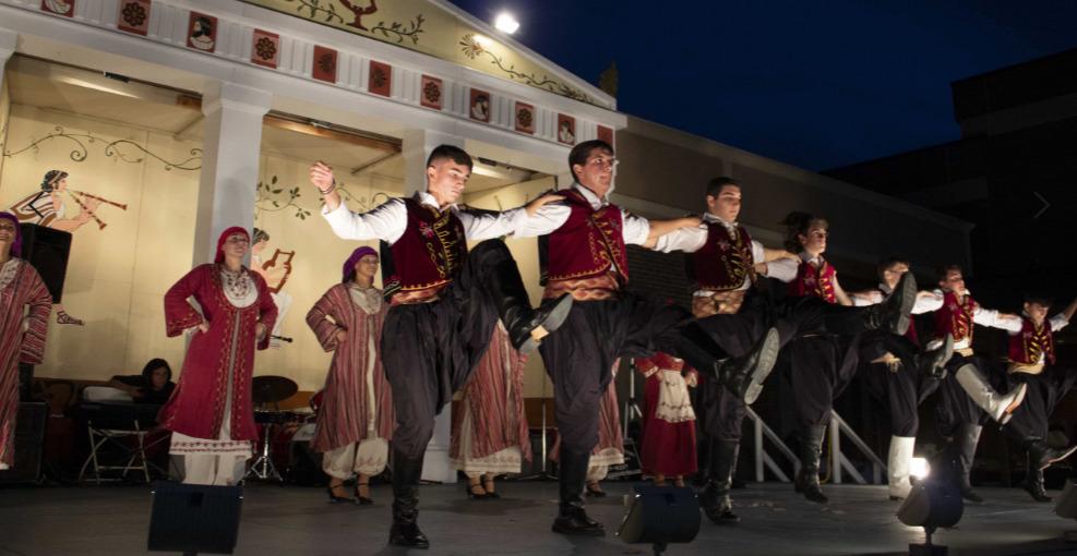 Hellenic Dancing at the Staten Island Greek Festival
