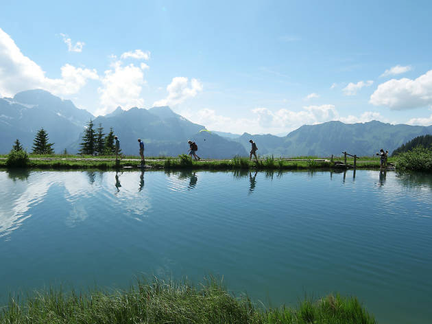Brunni, Engelberg, for Zurich family hiking feature