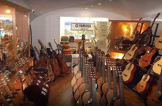 lojas de música