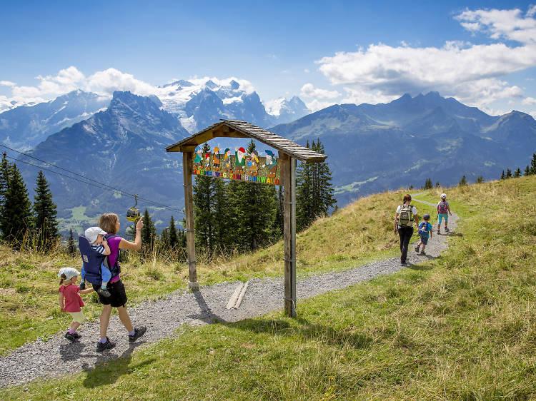 Five fun family walks near Zurich