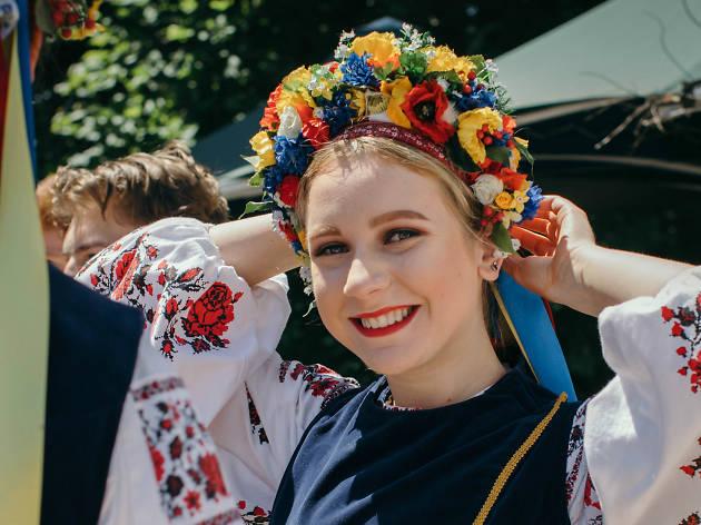 Polish Festival at Federation Square
