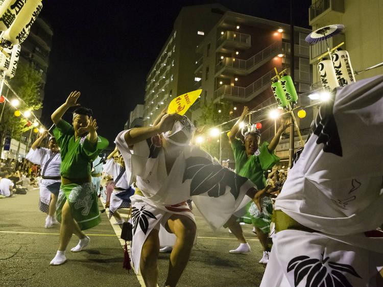 ベッドタウンの分断を阿波踊りが結ぶ