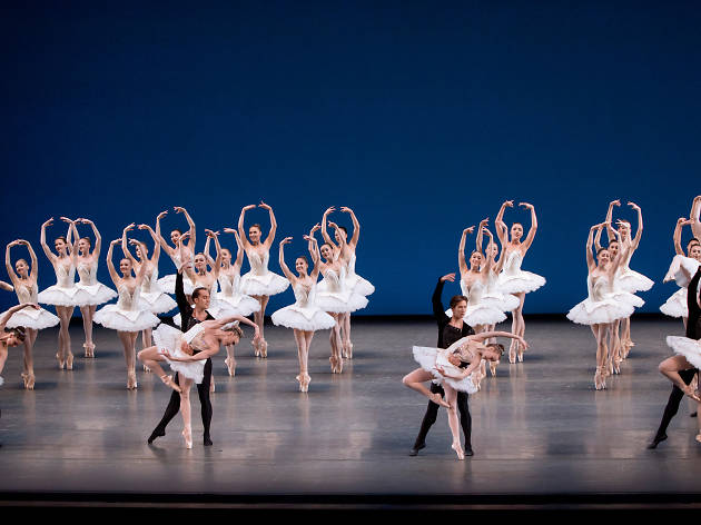 New York City Ballet in George Balanchine's Symphony in C
