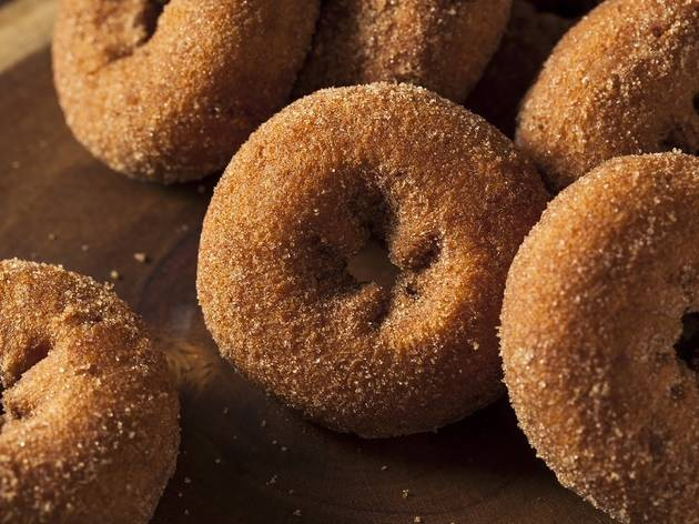 Apple cider donuts NYC