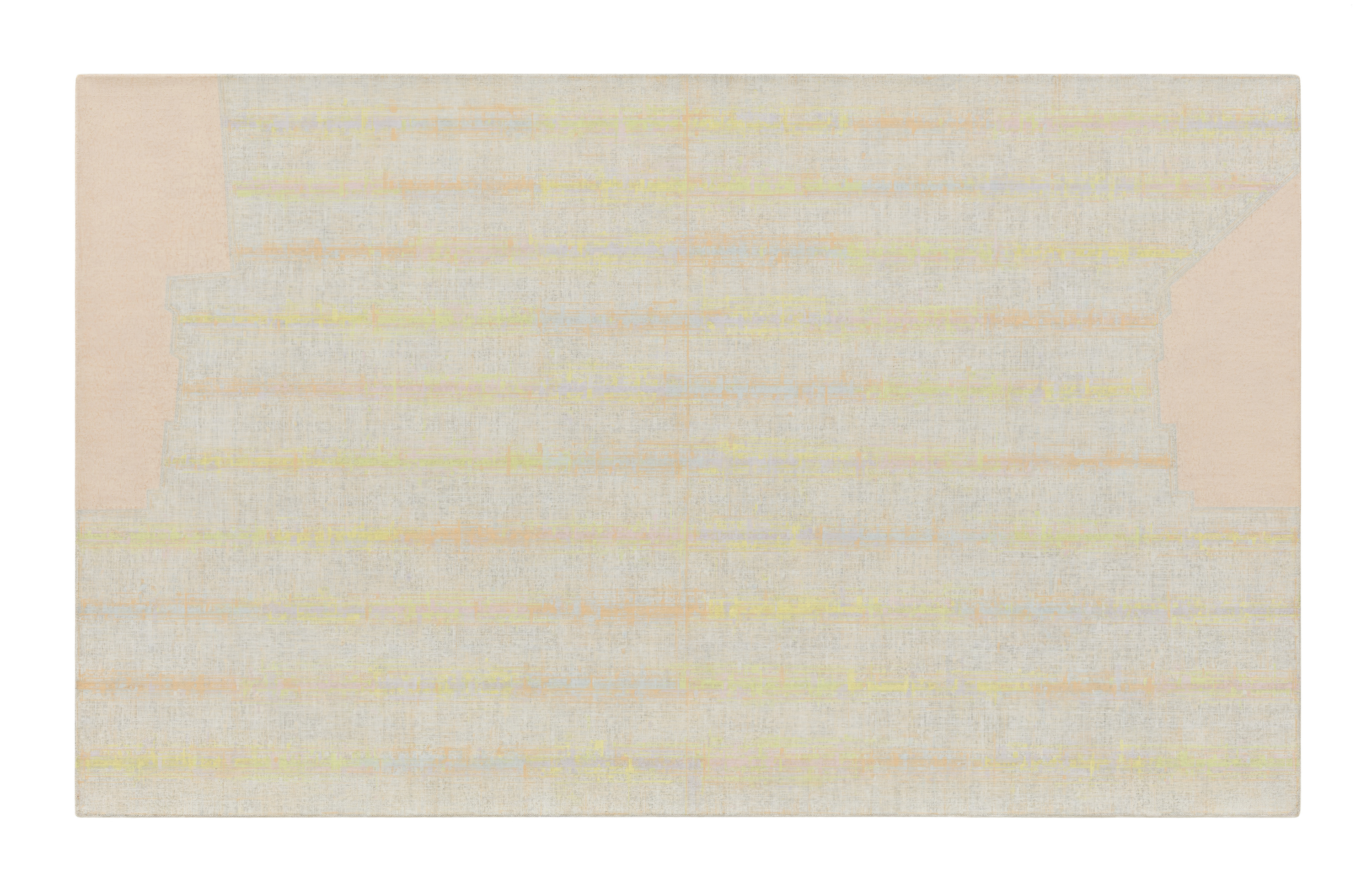 Julia Fish, Threshold, SouthEast –Two [ spectrum : orange with grey ], 2010–14.