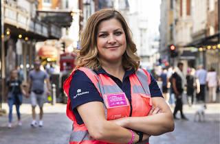 Ellie Compobassi, a volunteer for Soho Angels