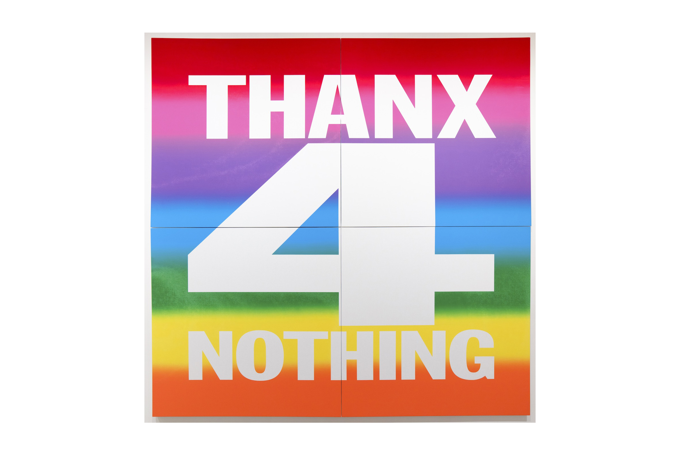 John Giorno THANX 4 NOTHING, 2019