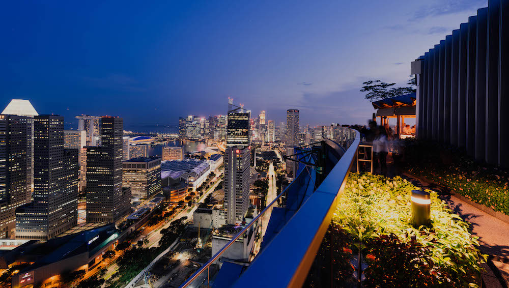 The best rooftop bars in Singapore