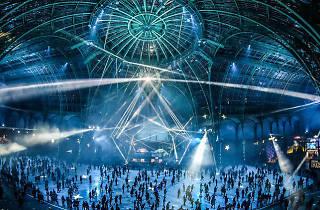 La plus grande patinoire intérieure éphémère du monde revient au Grand Palais