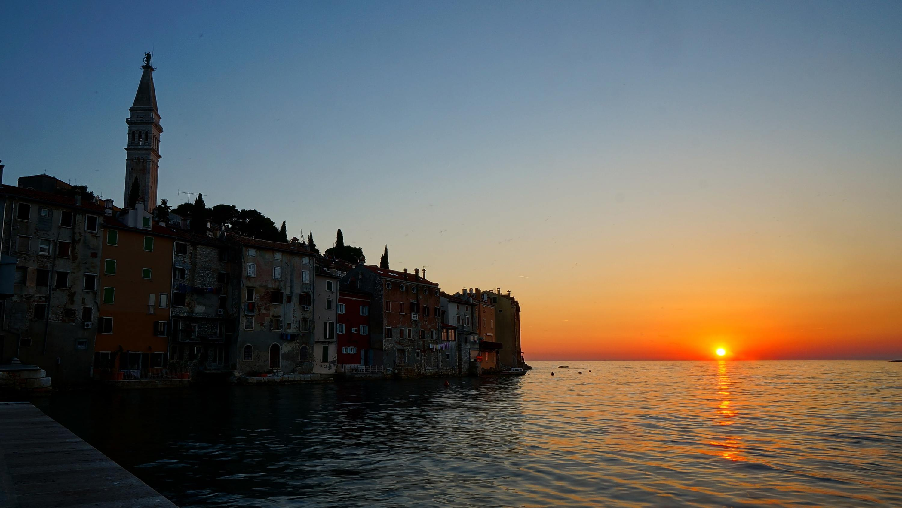 In pictures: the most beautiful sunsets in Croatia