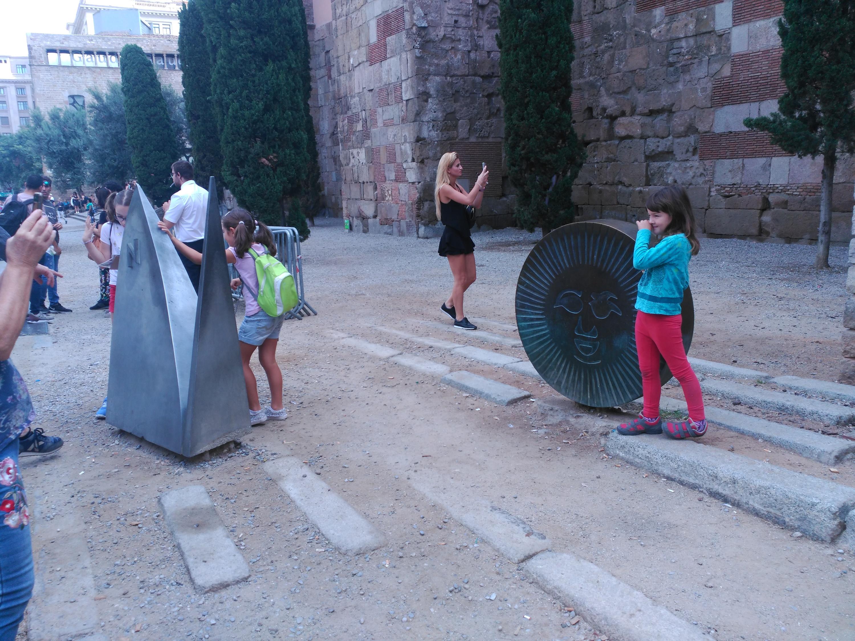 Gimcana familiar: Patrones de Barcelona, la Mercè i Santa Eulàlia