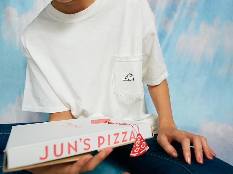 ピザが届く……