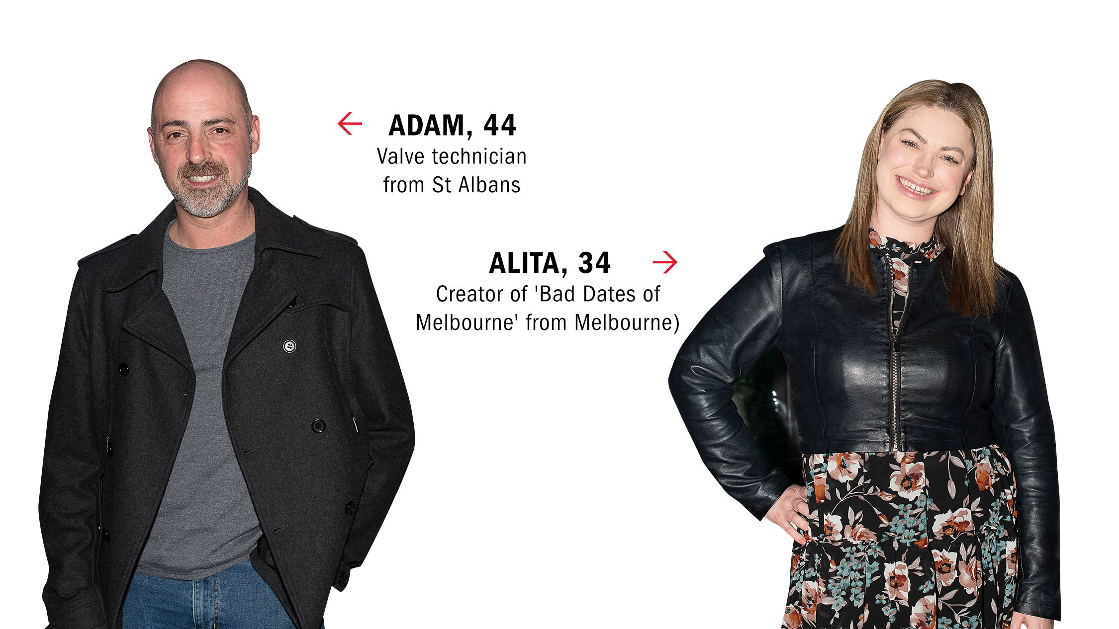 Dating IRL: Adam and Alita