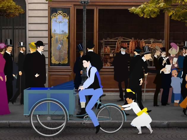 ミッシェル・オスロ 『ディリリとパリの時間旅行』 展