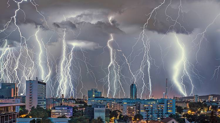 Lightening Storm (Zagreb)