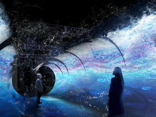 光の深海展