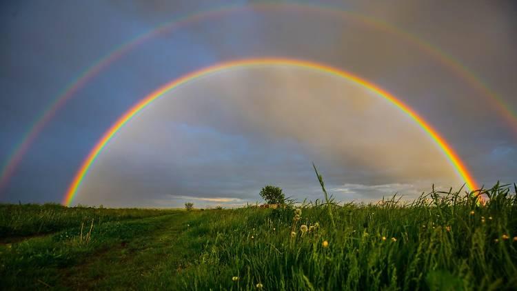 Two Rainbows (Pribislavec, Međimurje)