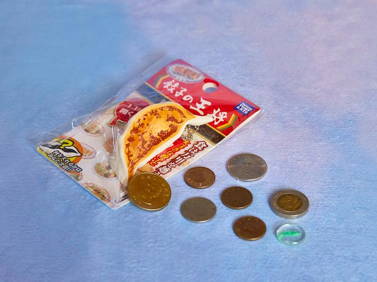 餃子で支払う。
