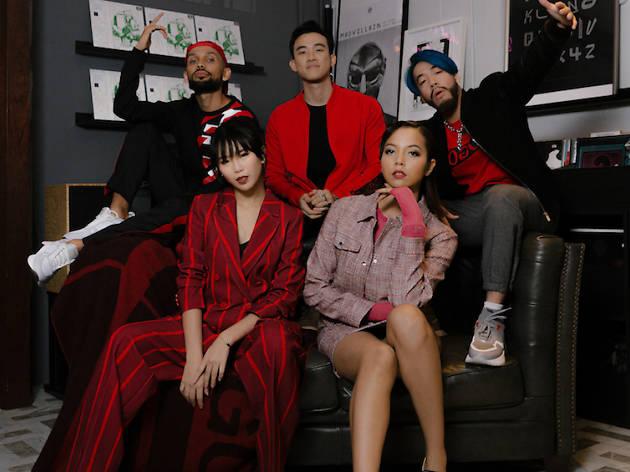 THELIONCITYBOY, DJ Myrne, ShiGGa Shay, Estelle Fly, Aisyah Aziz