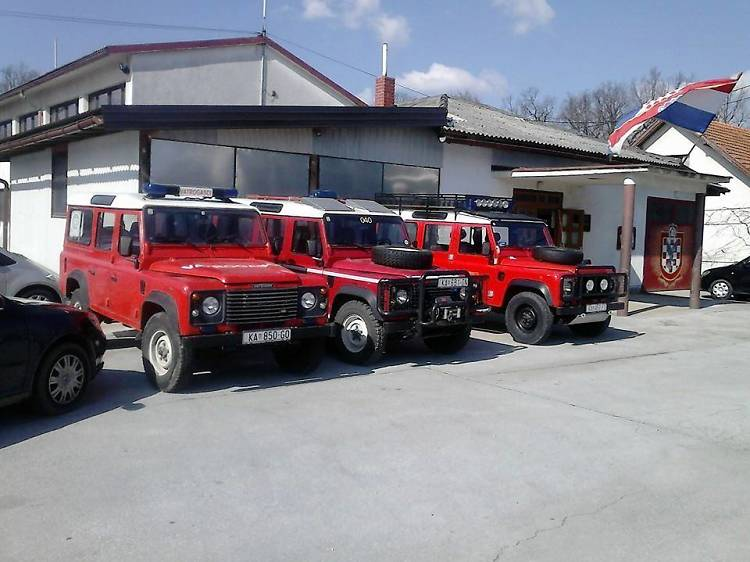 Visit the 1,000-exhibit Firefighters' Museum