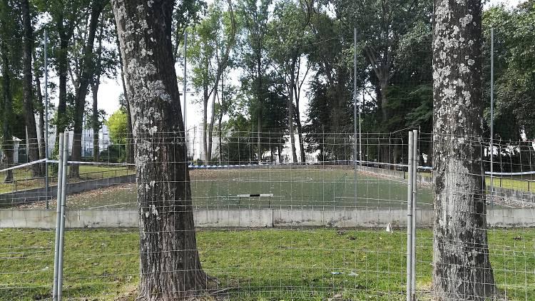 As obras no Parque Desportivo de Ramalde já começaram