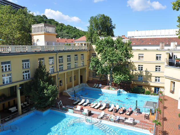 Lukacs thermal baths and spa in Budapest