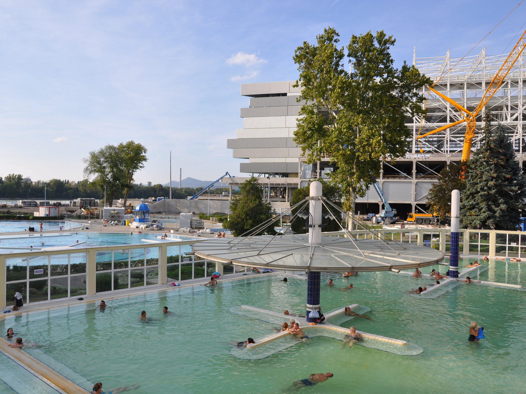 Dagaly thermal baths and spa in Budapest