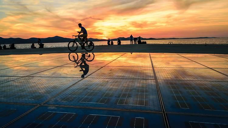 Zadar: Greeting to the Sun