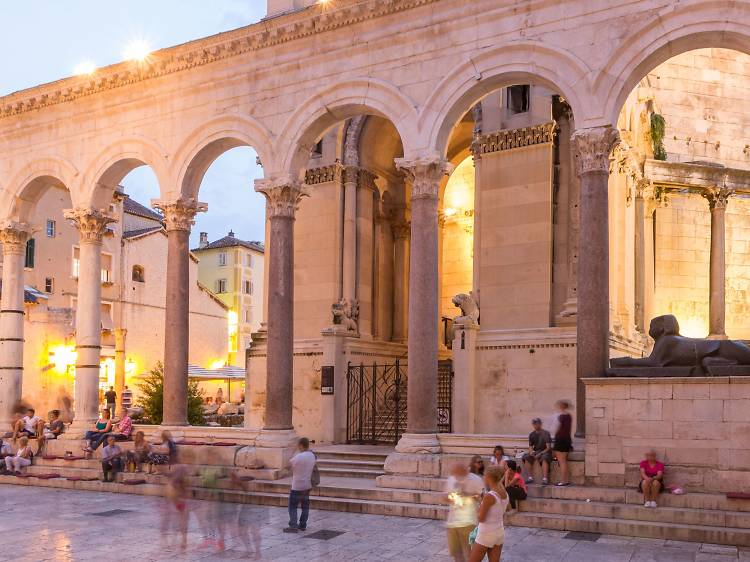 Delve into Split's history