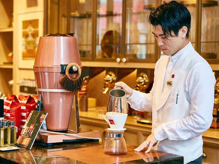 Toriba Coffee Ginza