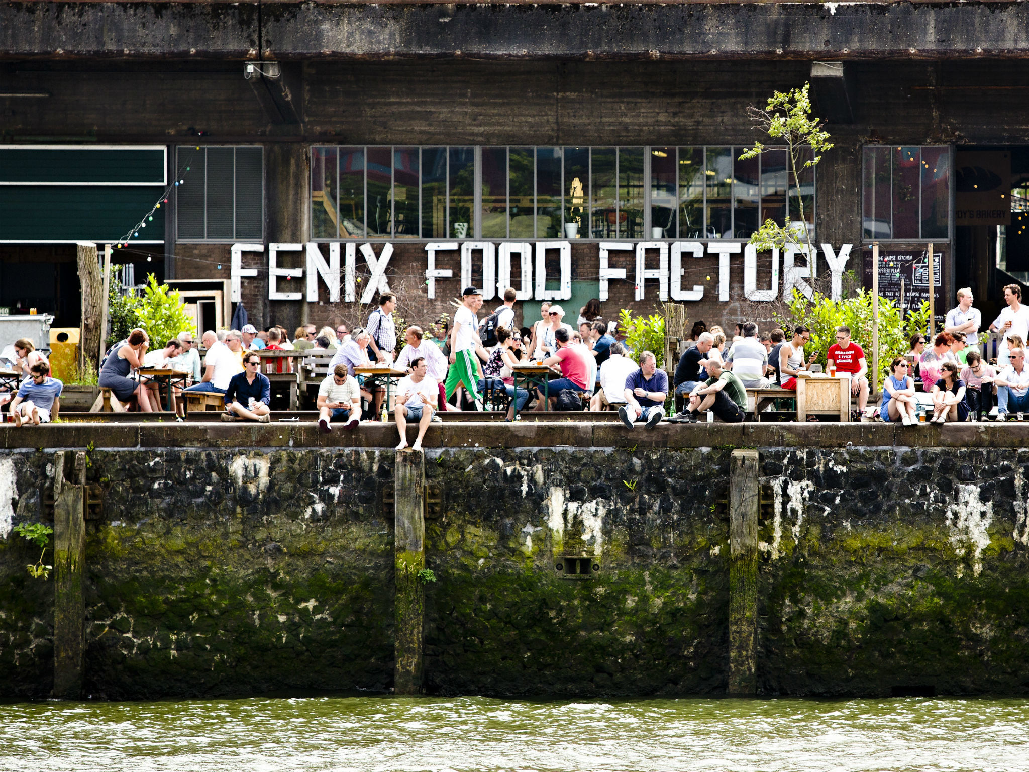 Fenix Food Factory in Katendrecht, Rotterdam's coolest neighbourhood
