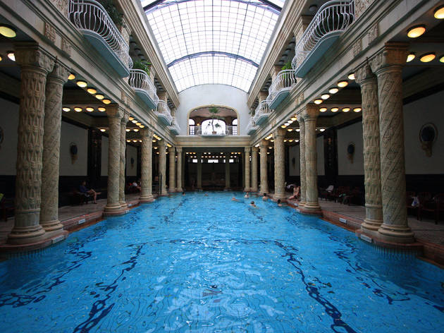 Gellert thermal baths and spa in Budapest