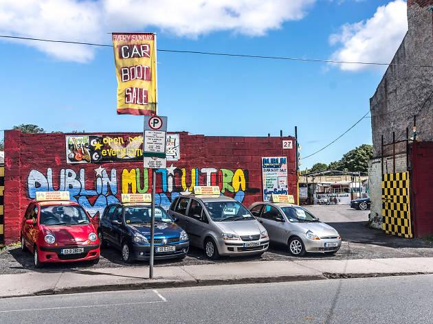 Prussia Street in Stoneybatter, Dublin