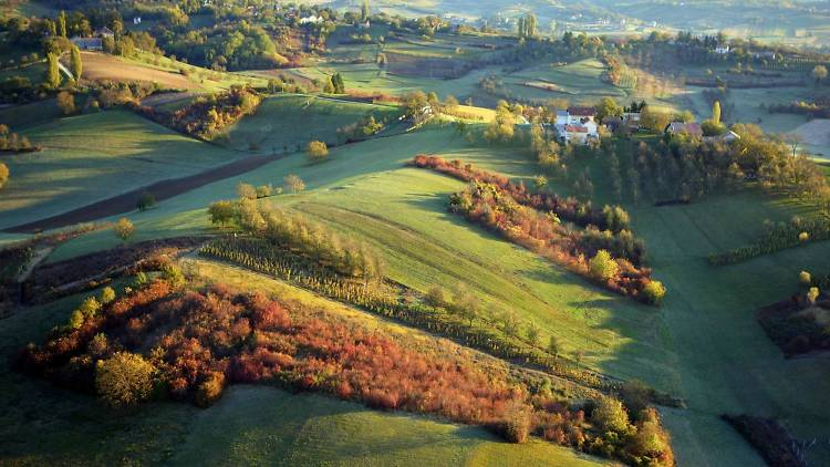 Samobor hills, near Zagreb