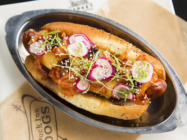 duck inn, duck inn dogs, jaclyn rivas, time out market, time out market chicago
