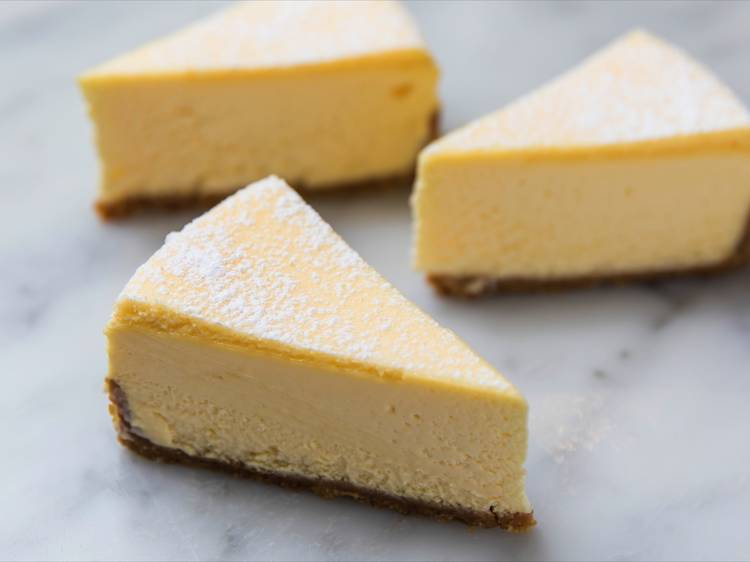 Drool over the legendary cheesecake at Lorraine's Patisserie