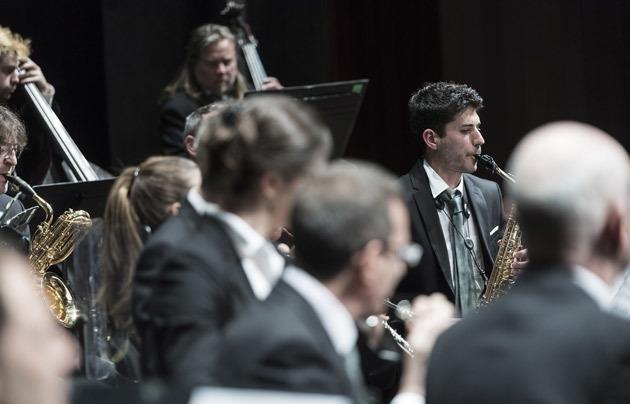 La Banda a la Festa Major de Sant Andreu