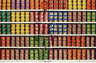 Liu Bolin, Instant Noodles, 2013