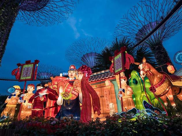 Gardens by the Bay's Mid-Autumn Festival