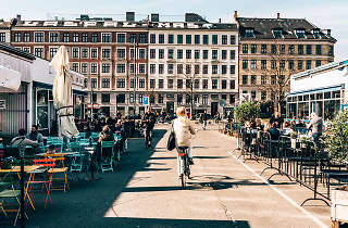 Restaurants in the Meatpacking District in Vesterbro in Copenhagen