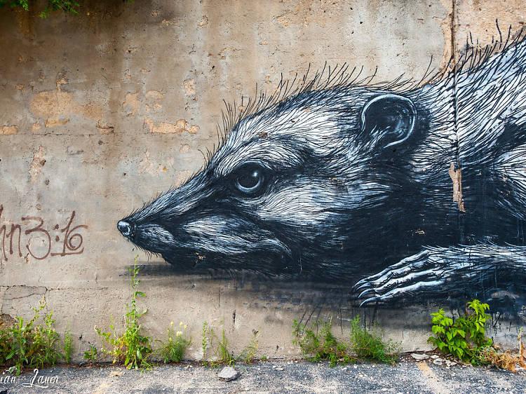 16th Street murals