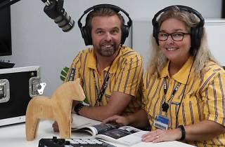 IKEA Slow TV channel narrators Kent and Sara Eriksson