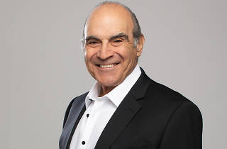 Press shot of actor David Suchet
