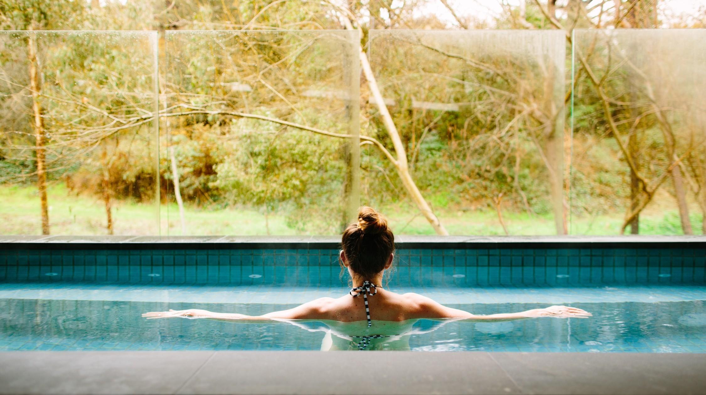 Hepburn Springs pool