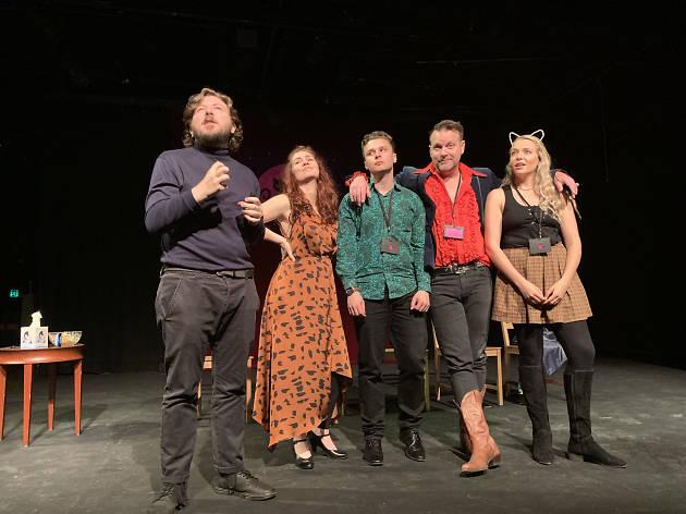 Cats Talk Back Sydney Fringe 2019 supplied