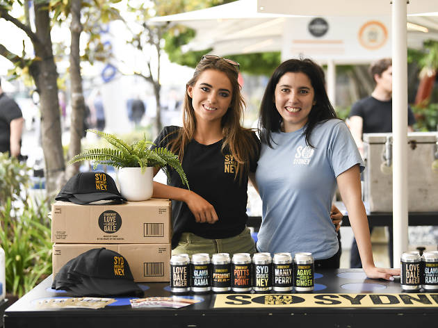 Girls pouring beer