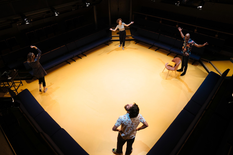 <p>'Amsterdam' at Orange Tree Theatre</p>